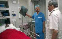 Parrikar visiting jawans
