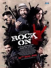 A poster of Rock On!! 2