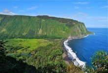 Waipio Valley Beach, Hawaii