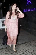 Sonam Kapoor looks dazzling on her way out from Hakkasan, in Bandra West.