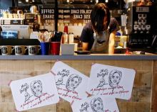 This gastronomical contest at J.S. Burgers Cafe in Tokyo will continue till the elections get over. The winning burger will be announced on the same day when the winner of the Presidential seat will be declared in the U.S--9 November.