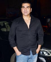 Arbaaz Khan at Aayush's birthday bash