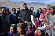 PM Modi at Chango Village
