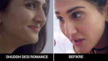 Vaani Kapoor in Shuddh Desi Romance and Befikre