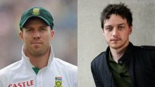 AB de Villiers and James McAvoy