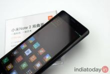 Xiaomi Mi Note 2: You either have curves or you don't