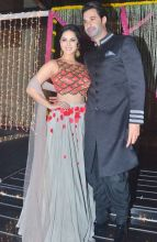 Sunny Leone and her husband Daniel Weber