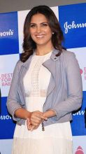 Lara Dutta at the launch of a YouTube Channel
