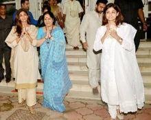 Shilpa Shetty, Sunanda Shetty, Shamita Shetty