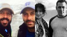 Kabir Khan and Salman Khan (L), Zhu Zhu and Salman Khan