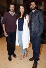 Anil Kapoor, Saiyami Kher and Harshvardhan Kapoor