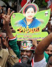 Jayalalithaa supporter