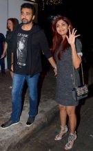 Shilpa Shetty with Raj Kundra