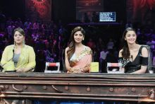 Alia Bhatt, Shilpa Shetty, and Geeta Kapur