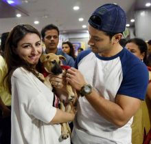 Soha Ali Khan and husband Kunal Kemmu