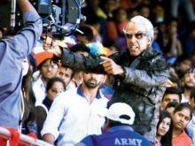 Akshay Kumar on the sets of 2.0