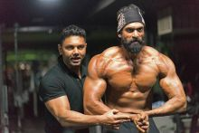 Rana Daggubati's look from Baahubali