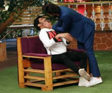 Ranveer Singh and Kapil Sharma