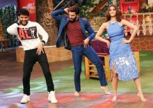 Vaani Kapoor, Ranveer Singh and Kapil Sharma