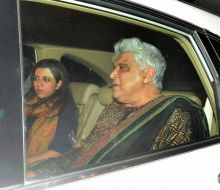 Zoya Akhtar and Javed Akhtar