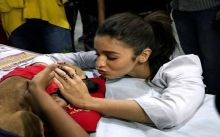 Alia Bhatt at a pet adoption event