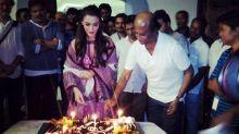 Rajinikanth and Amy Jackson