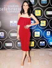 Beyhadh actress Aneri Vajani looks graceful in maroon.