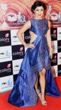 Debina Bonnerjee was a head turner in blue.