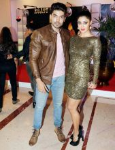 TV's hottest couple Gurmeet Choudhary and Debina Bonnerjee.