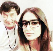 Jackie Chan and Ileana D'Cruz