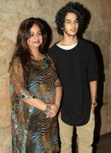 Neelima Azmi and Ishaan Khattar at Dear Zindagi screening