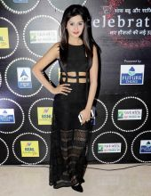 The beautiful Kanchi Singh--Rohan Mehra's girlfriend--looks gorgeous in black.