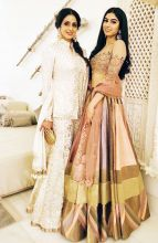 Sridevi and Khushi Kapoor