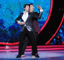 Manish and Karan are totally into their performance on Jhalak.