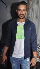 Anita Hassanandani's husband Rohit Reddy was also spotted at the do.