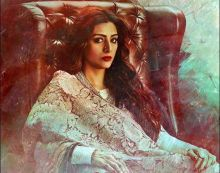 Tabu in a still from Fitoor