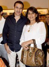 Actors Parmeet Sethi and Archana Puran Singh at the book launch.