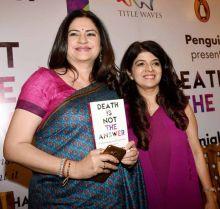 Actress Kunika Lall with Dr. Anjali Chhabria.
