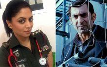 Kavita Kaushik and Nawab Shah