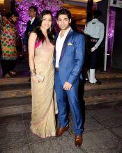 Ruslaan Mumtaz and wife Nirali Mehta
