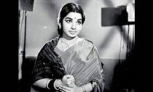 Rare picture of Jayalalithaa