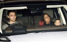 Arpita Khan Sharma and family