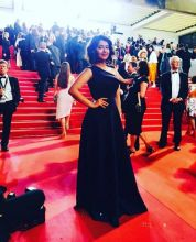 Balika Vadhu actress Avika Gor dazzled one and all with her stunning appearance at the Cannes red carpet. The actress' floor length one sided blue ball gown made many heads turn at the festival. The actress was at Cannes as her maiden production venture,
