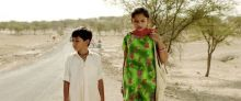 Krrish Chhabria as Chotu and Hetal Gada as Pari in Dhanak