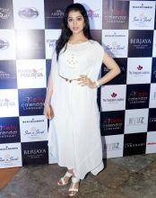 Digangana Suryavanshi looks classy in this all-white ensemble.