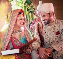 Divyanka Tripathi's wedding was in news for the entire year, from January to December. The Yeh Hai Mohabbatein star got engaged to her co-star on January 15, and tied the knot on July 8. The couple are now set for their European honeymoon.