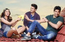 Alia Bhatt, Fawad Khan and Sidharth Malhotra in a still from Kapoor and Sons