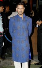 Bigg Boss 9 contestant Keith Sequeira was also present at the Sangeet. He will most likely be tying the knot with Rochelle Rao early next year.