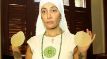 Former Bigg Boss contestant Sofia Hayat's sudden transformation as nun surprised everyone. The model-actor's bizarre statements like I gave birth to Lord Shiva were much talked about. Interestingly, she was back to her glam self after a couple of months.