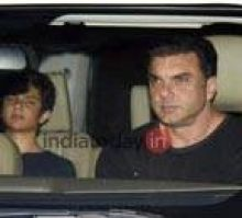Nirvaan and Sohail Khan.
